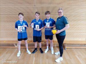 L.E. volleys Challenge (1)