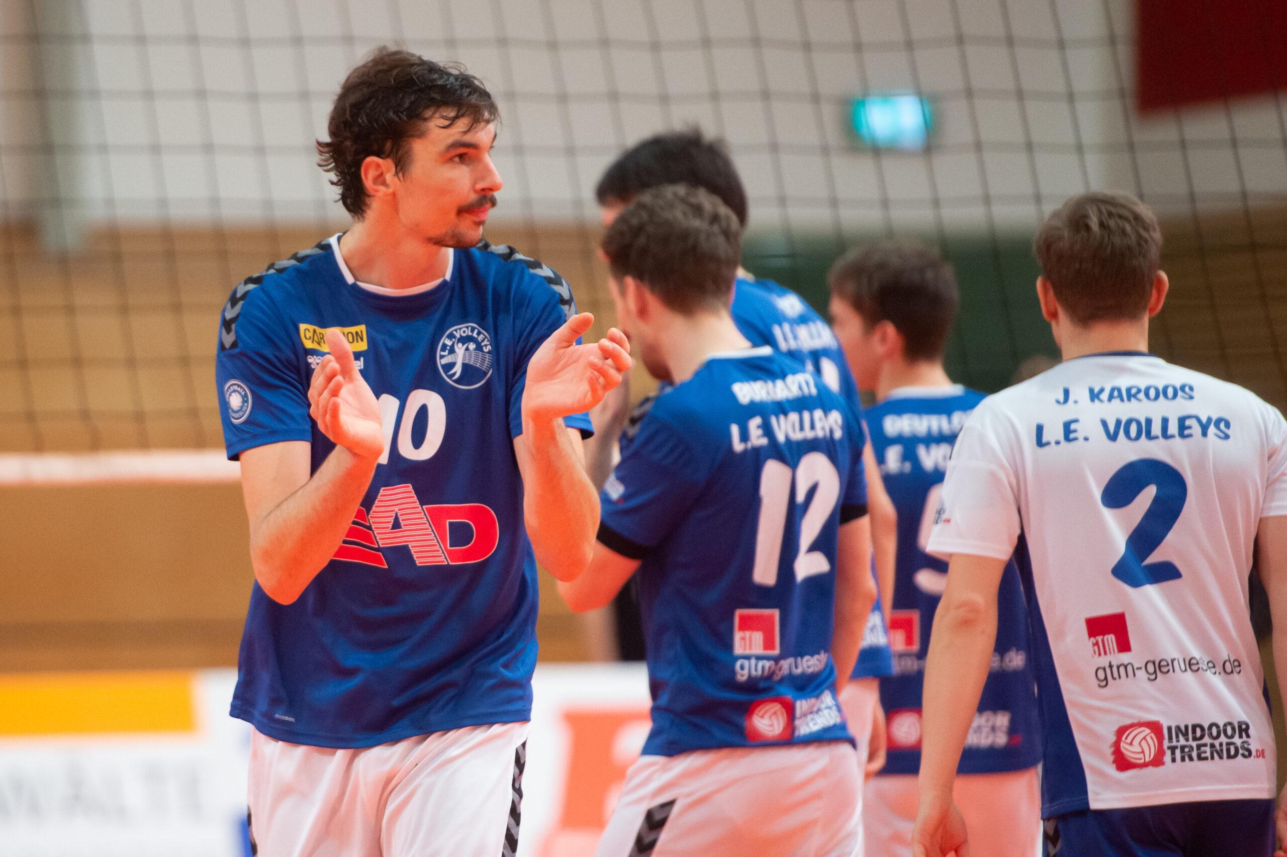 Jannik Kühlborn (Volleys #10)   L.E. Volleys Leipzig vs FT 1844 Freiburg, Volleyball, 2.Liga, 13.03.2021