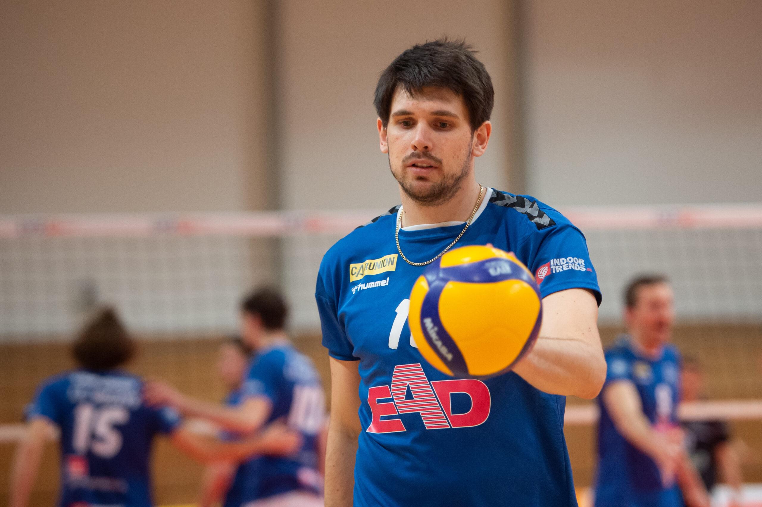 Jerome Ptock (Volleys #11)   L.E. Volleys Leipzig vs FT 1844 Freiburg, Volleyball, 2.Liga, 13.03.2021