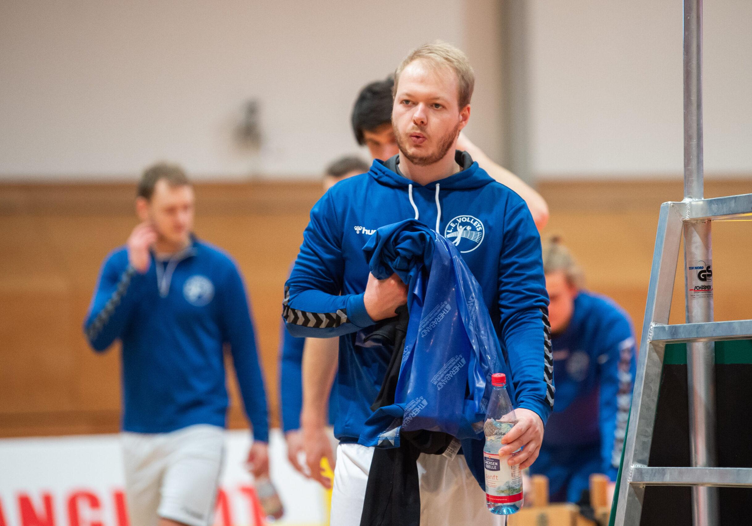 Bjšrn Vanselow (Volleys #7) L.E. Volleys Leipzig vs TSV Grafing, Volleyball, 2.Liga, 30.01.2021